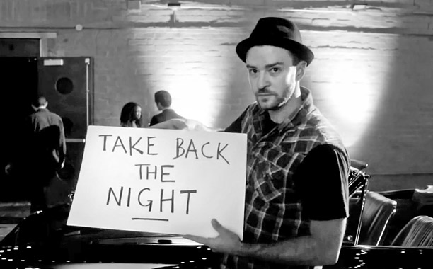 "Justin Timberlake ""Take Back the Night""(Screengrab)"