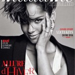 Alicia Keys en couverture de Madame Figaro