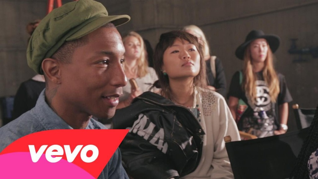 pharrell williams - freedom - klasmag - behind the scene