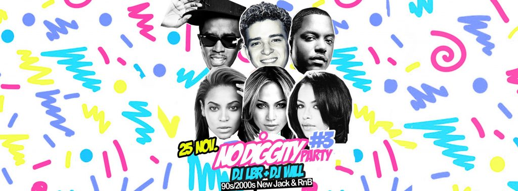 NO Diggity Party 3
