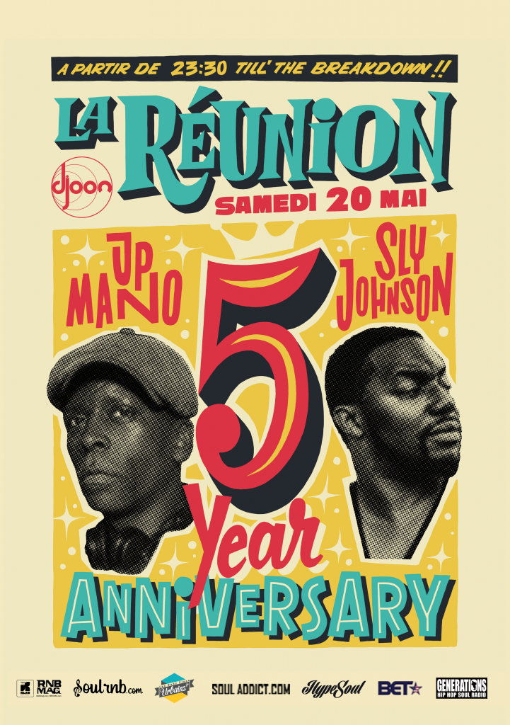 Djoon la Reunion party - 5 ans - rnb mag